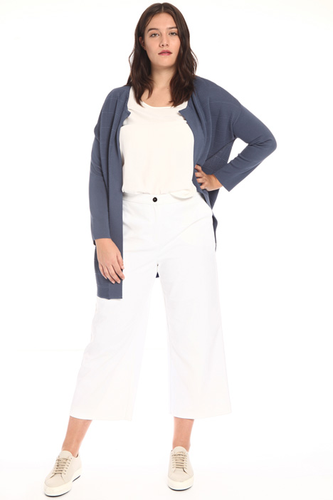 Cropped cotton trousers Intrend