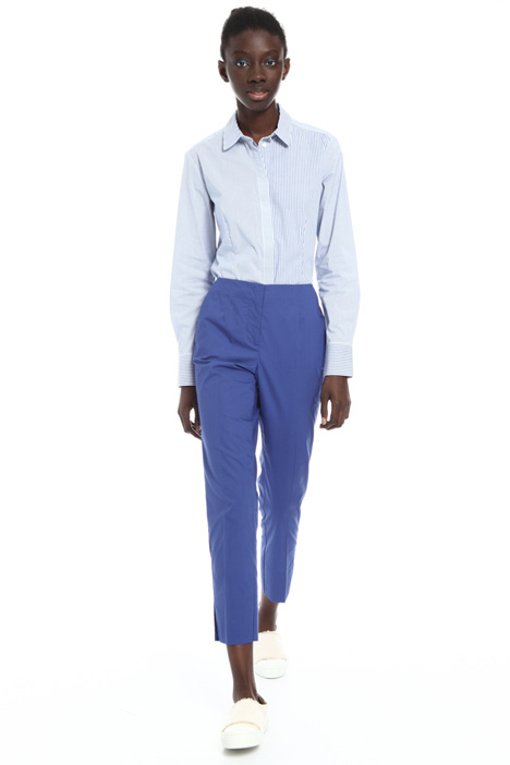 Poplin trousers Intrend