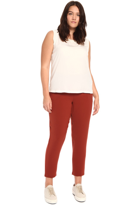 Light triacetate trousers Intrend