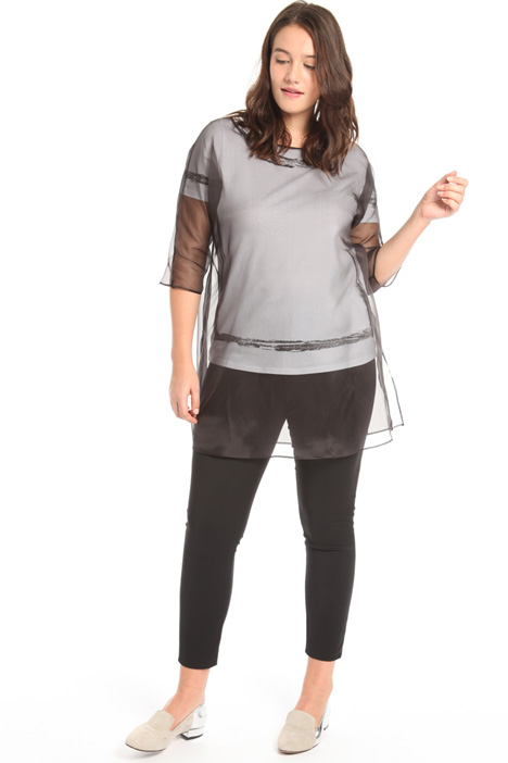 Silk organza tunic Intrend