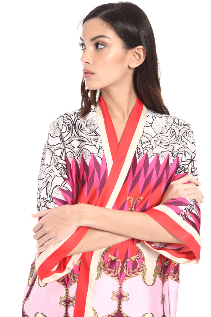 Foulard print kimono Intrend
