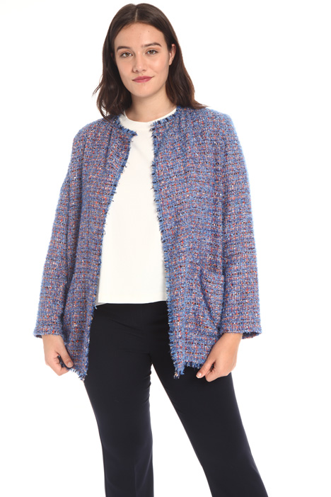 Cotton and lurex jacket Intrend