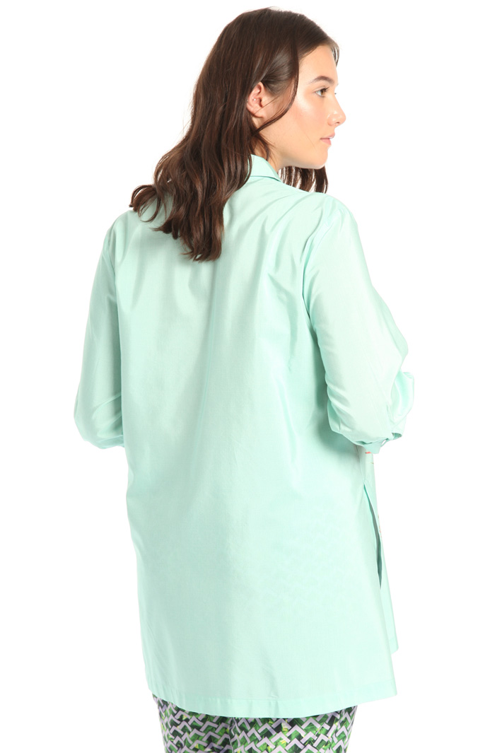 Cotton canvas tunic Intrend