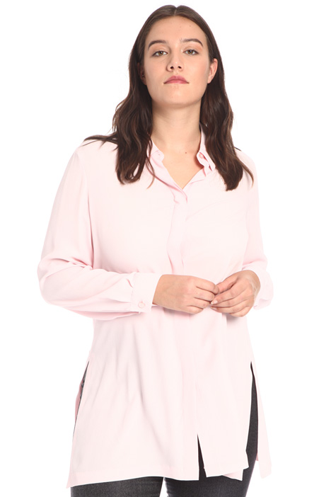 Crepe silk tunic Intrend