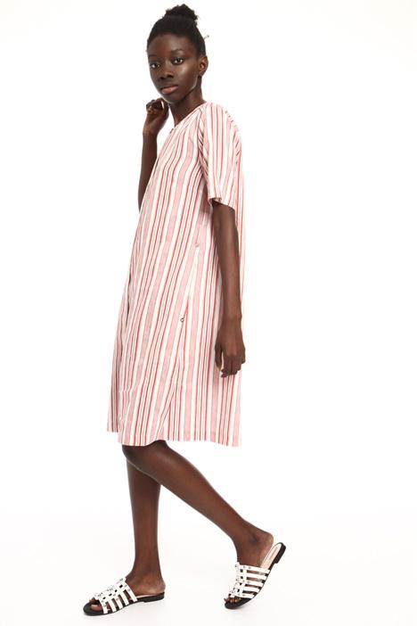 Flared striped dress Intrend