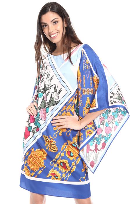 Foulard print dress Intrend