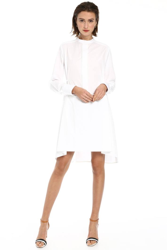 Oversized cotton dress Intrend