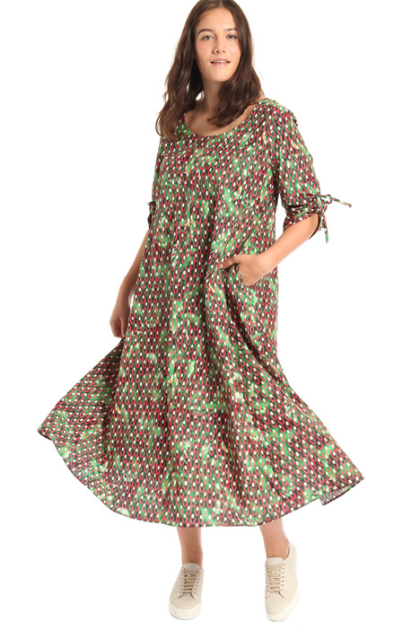 Long cotton dress Intrend