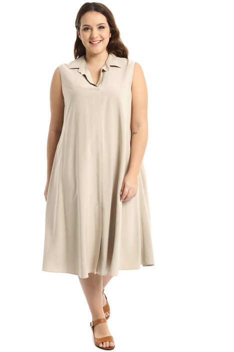 Twill dress with pockets Intrend