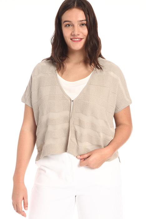 Crepe cotton cardigan Intrend