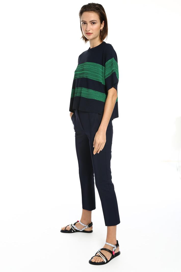 Viscose yarn sweater Intrend