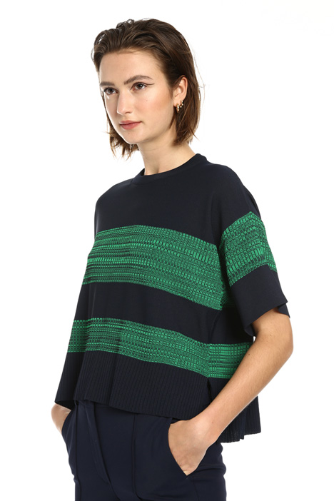 Viscose yarn sweater Intrend