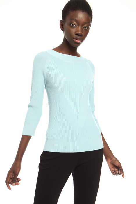 Stretch viscose sweater Intrend