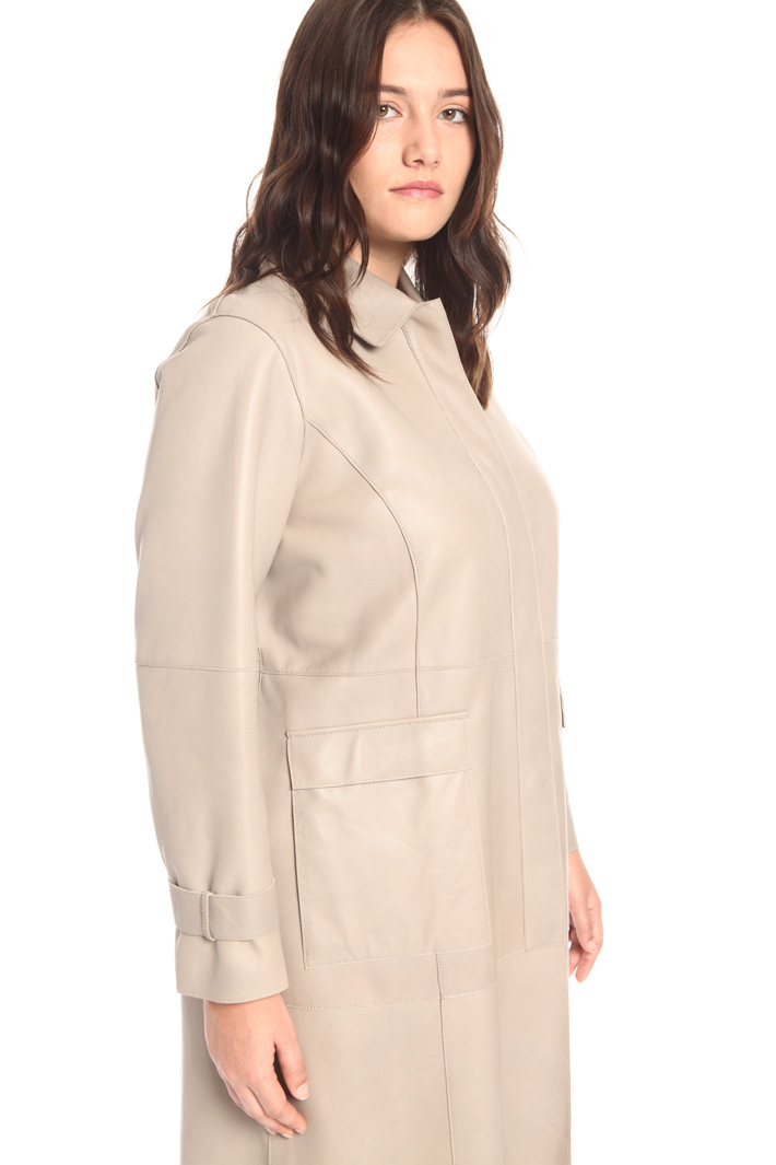 Nappa duster coat Intrend