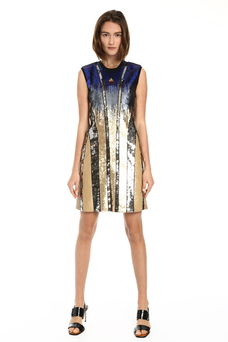 Short sequin dress Intrend