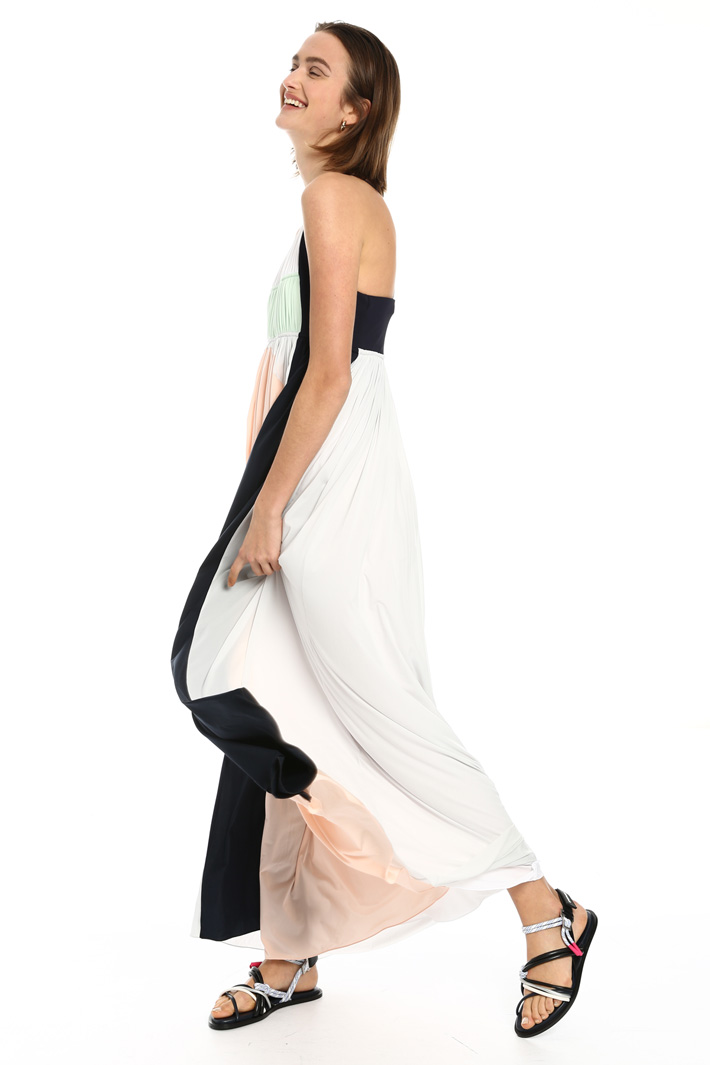 Long jersey dress Intrend