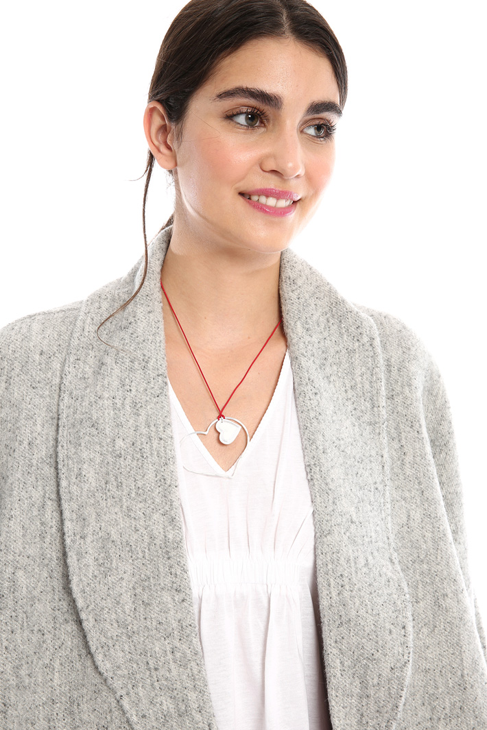 Rope necklace with pendant Intrend