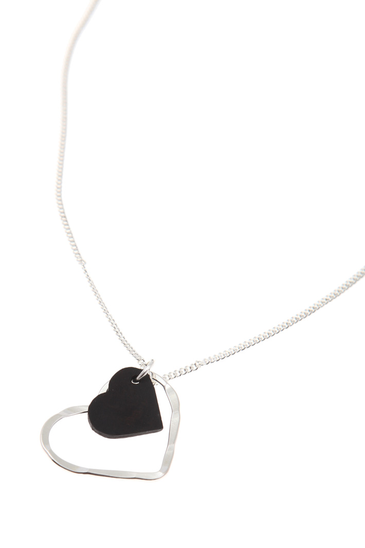 Silver necklace Intrend
