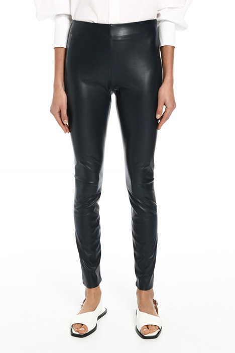 Leggings in similpelle Intrend