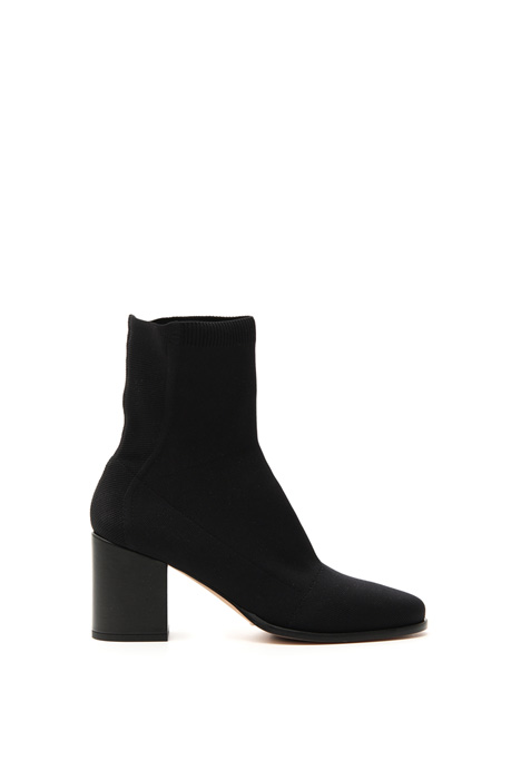 Knitted ankle boot    Intrend