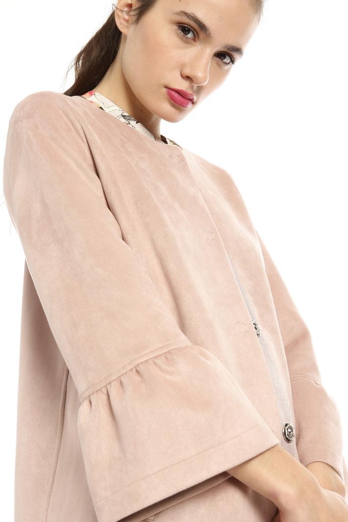 Bell sleeve jacket Intrend
