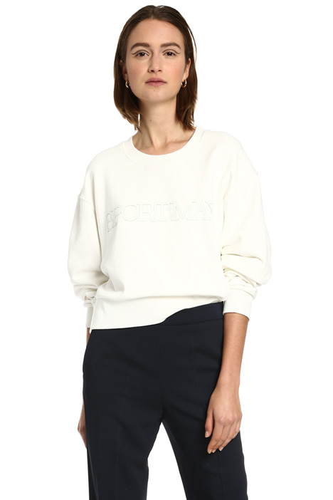 Short cotton sweatshirt Intrend