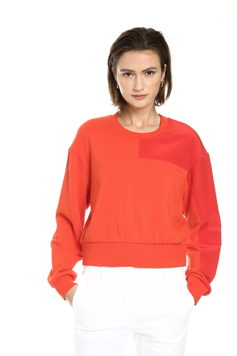 Stretch cotton sweatshirt Intrend