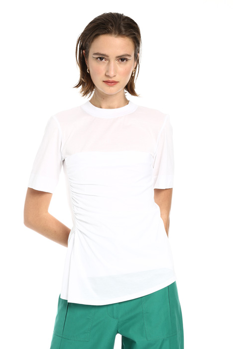 Draped T-shirt Intrend