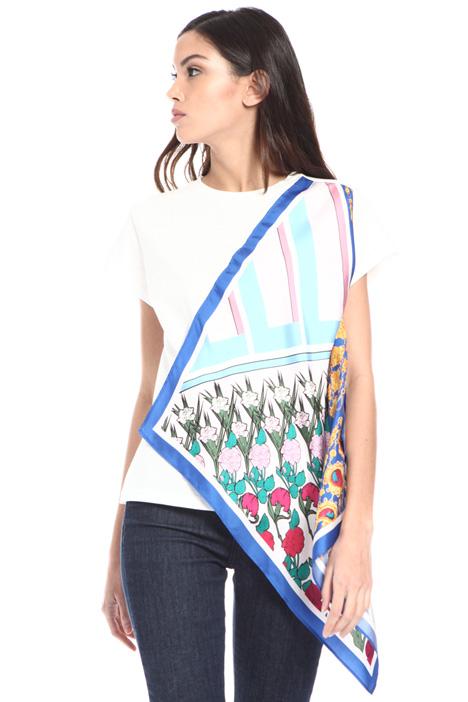 Foulard flounce T-shirt Intrend