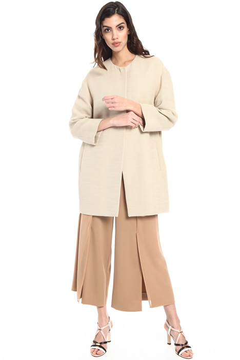 Cotton pique duster coat Intrend