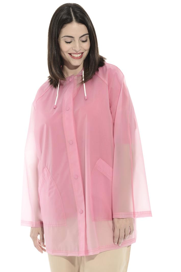 Hooded rain coat Intrend