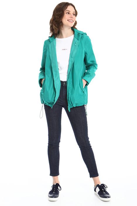 Short hooded raincoat Intrend