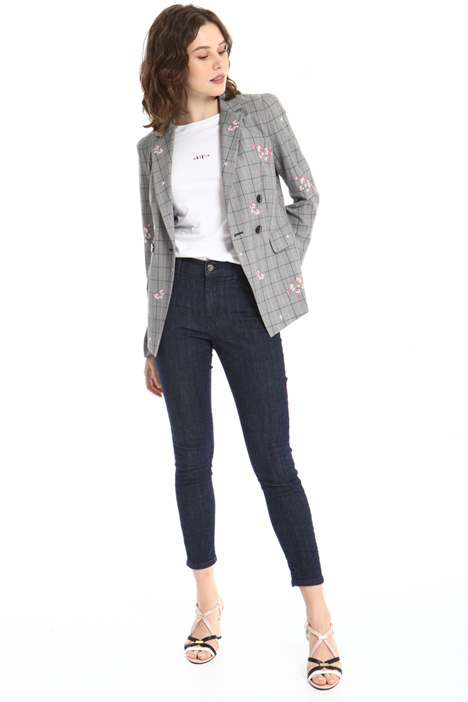 Double-breasted floral blazer Intrend