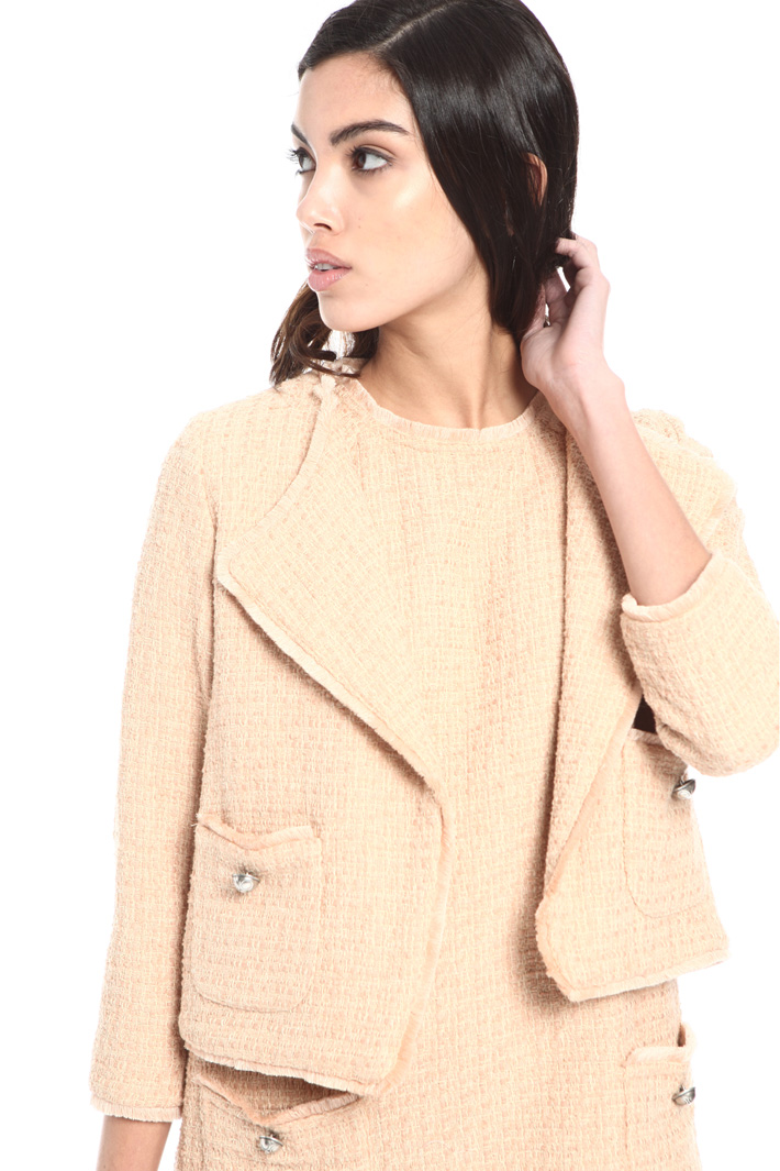 Woven cotton jacket Intrend