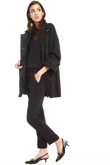 Two fabric trench Intrend