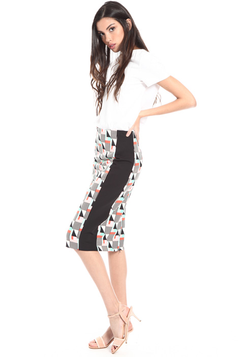 Printed sheath skirt Intrend