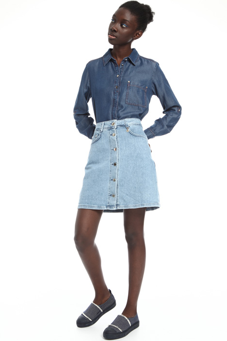 Denim mini skirt Intrend