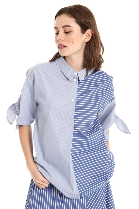 Two-pattern blouse Intrend