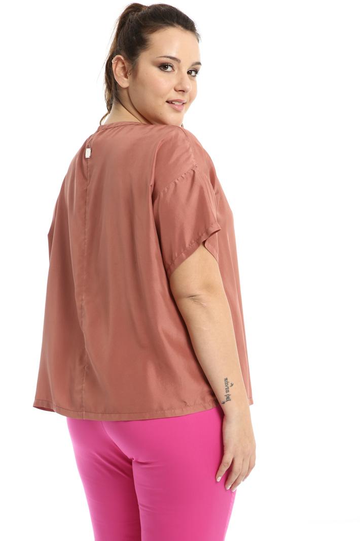Silk habotai blouse Intrend