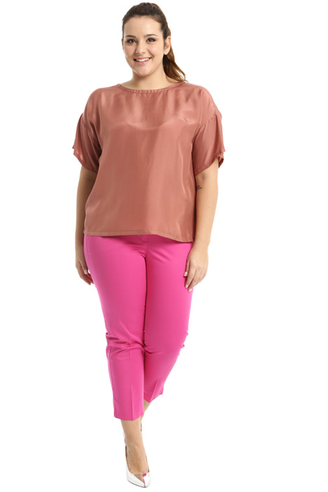 Silk habotai blouse Intrend