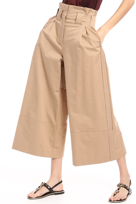 High rise cotton trousers Intrend