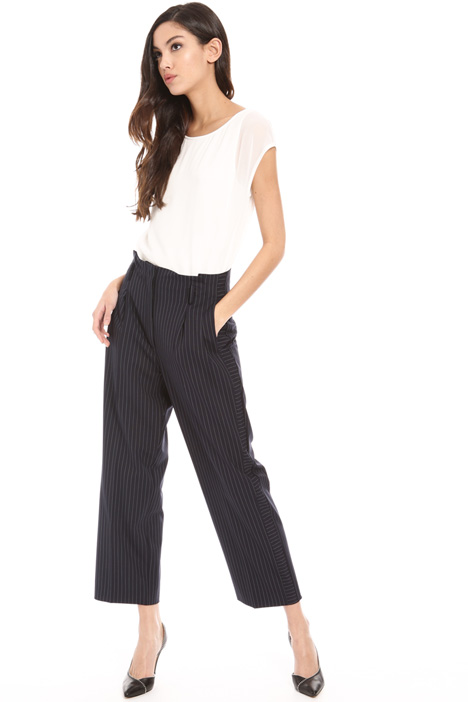 High waist viscose trousers Intrend