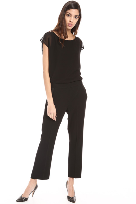 Satin crepe trousers Intrend