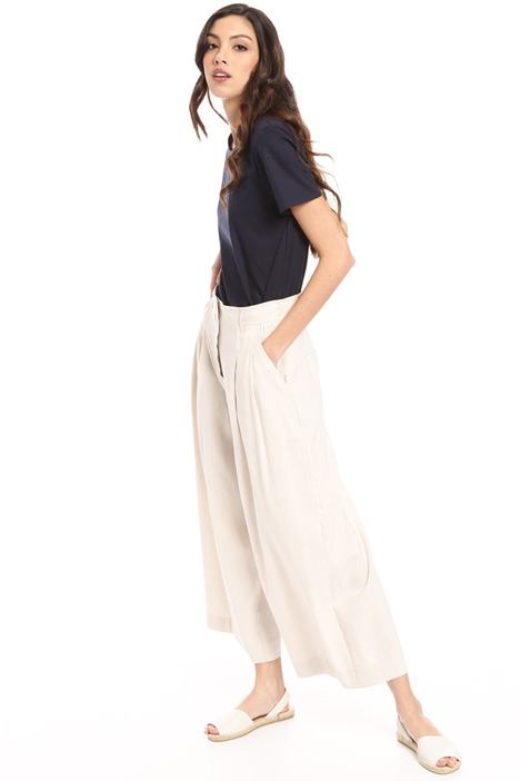 Woven linen trousers Intrend