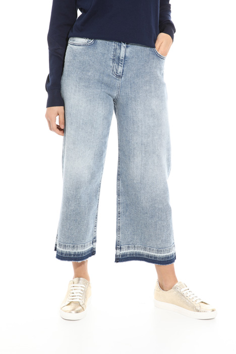 Oversized denim trousers Intrend