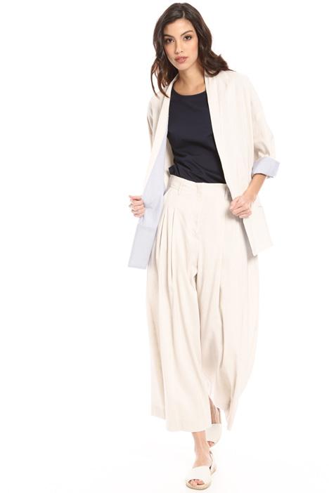 Linen kimono jacket Intrend