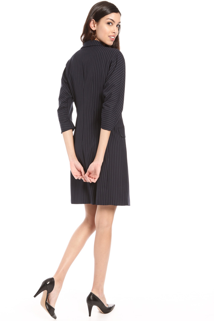 Pinstriped coat Intrend