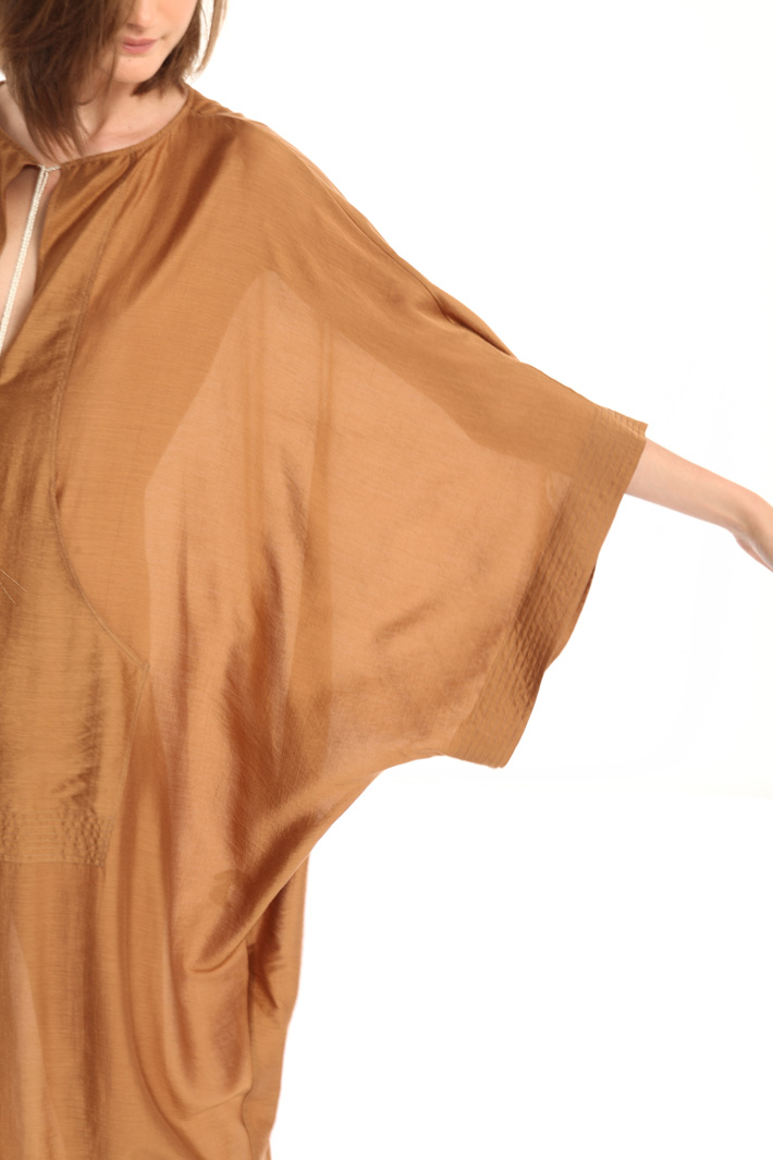 Loose fit silk blend tunic Intrend