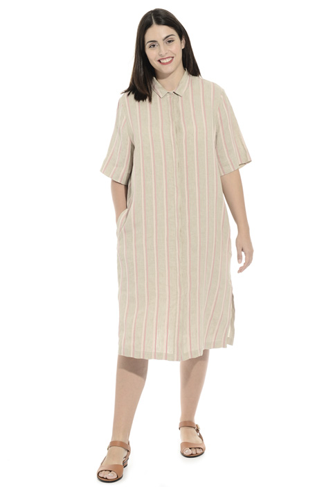 Linen and cotton dress Intrend
