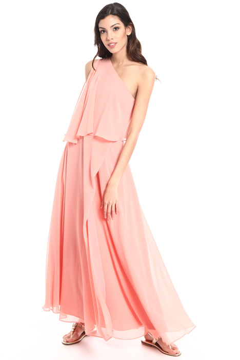 One shoulder long dress Intrend